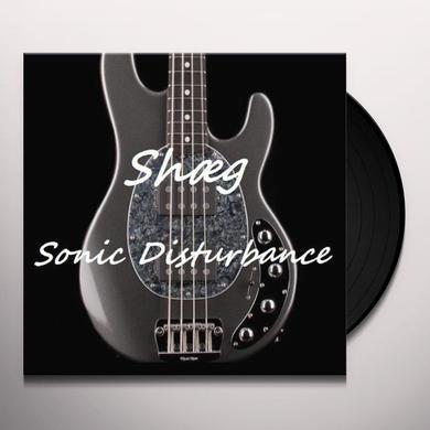 Shaeg SONIC DISTURBANCE Vinyl Record