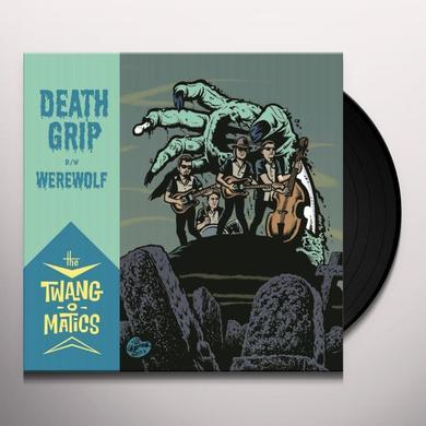 The Twang-O-Matics DEATH GRIP/WEREWOLF Vinyl Record