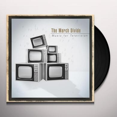 The March Divide MUSIC FOR TELEVISION Vinyl Record