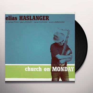 Elias Haslanger CHURCH ON MONDAY-LIMITED EDITION Vinyl Record