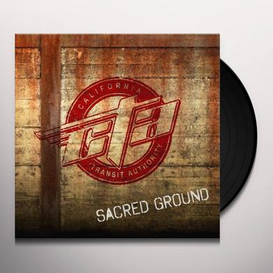 Cta ( California Transit Authority) SACRED GROUND Vinyl Record
