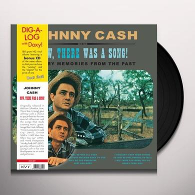 Johnny Cash NOW THERE WAS A SONG! Vinyl Record