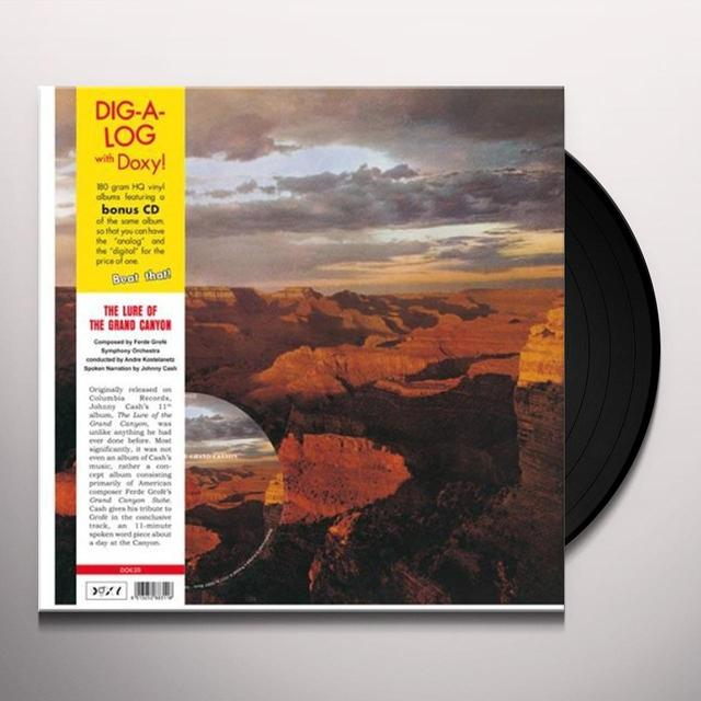 Johnny Cash LURE OF THE GRAND CANYON Vinyl Record