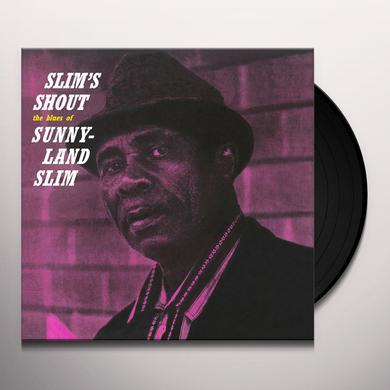 Sunnyland Slim SLIM'S SHOUT Vinyl Record