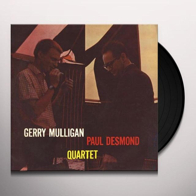 Gerry Mulligan & Paul Desmond QUARTET Vinyl Record