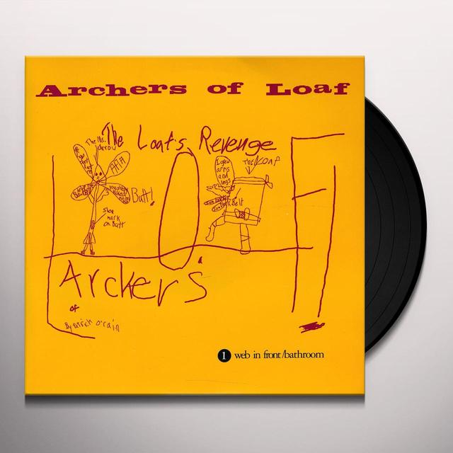 Archers Of Loaf WEB IN FRONT Vinyl Record
