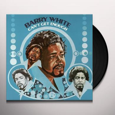 Barry White CAN'T GET ENOUGH Vinyl Record - 180 Gram Pressing