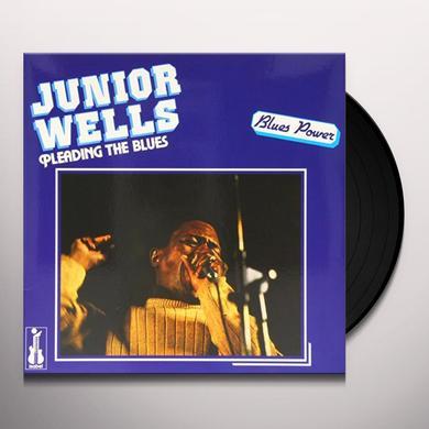 Junior Wells PLEADING THE BLUES Vinyl Record - 180 Gram Pressing