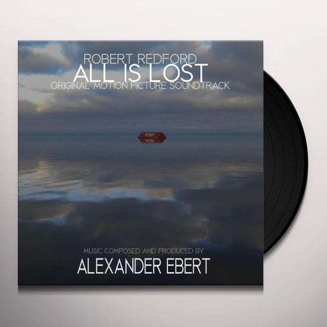 Alexander Ebert ALL IS LOST / O.S.T. Vinyl Record