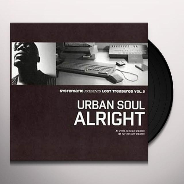 Urban Soul ALRIGHT Vinyl Record