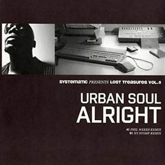 Urban Soul ALRIGHT Vinyl Record