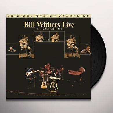 Bill Withers LIVE AT CARNEGIE HALL Vinyl Record
