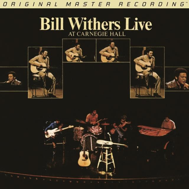 Bill Withers LIVE AT CARNEGIE HALL Vinyl Record - Limited Edition, 180 Gram Pressing
