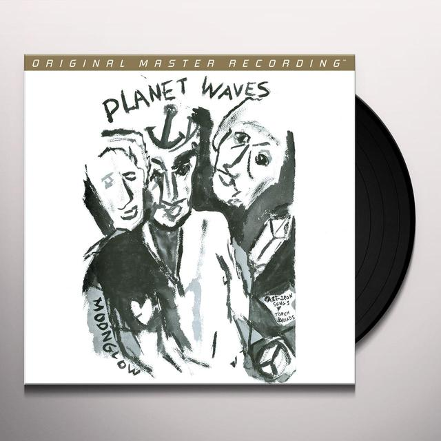Bob Dylan PLANET WAVES Vinyl Record - Limited Edition, 180 Gram Pressing