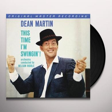 Dean Martin THIS TIME I'M SWINGIN Vinyl Record