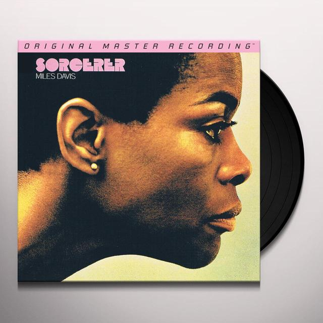 Miles Davis SORCERER Vinyl Record - Limited Edition, 180 Gram Pressing