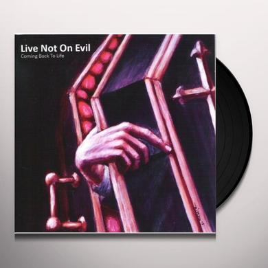 Live Not On Evil COMING BACK TO LIFE Vinyl Record