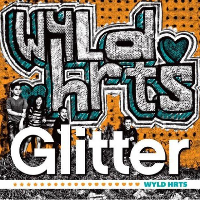 Glitter WYLD HRTS Vinyl Record