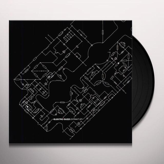 Elektro Guzzi EXTRAKT EP Vinyl Record