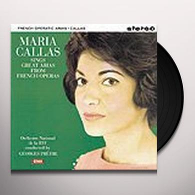 Maria Callas GREAT ARIAS FROM FRENCH OPERAS Vinyl Record