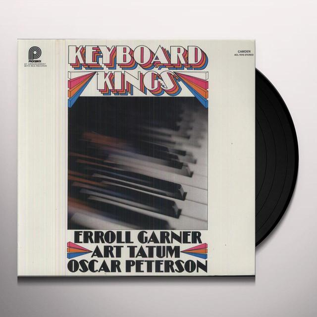 Garner /Tatum/Peterson KEYBOARD KINGS Vinyl Record