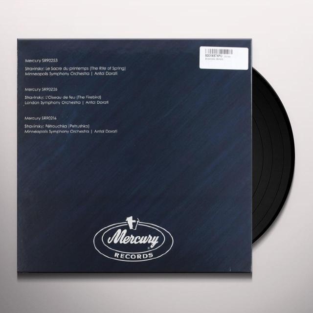 Antal Dorati STRAVINSKY BALLETS-MERCURY SR90216 SR90226 SR90253 (Vinyl)