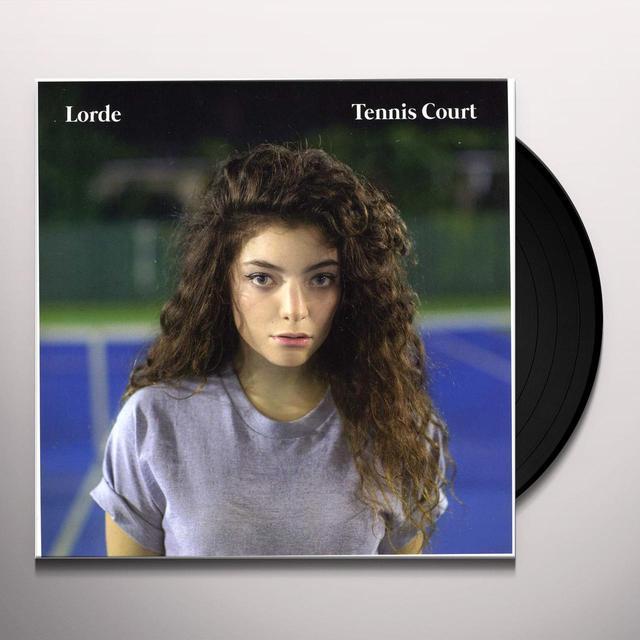 Lorde TENNIS COURT Vinyl Record