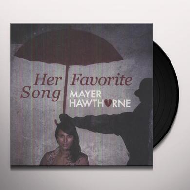 Mayer Hawthorne HER FAVORITE SONG Vinyl Record