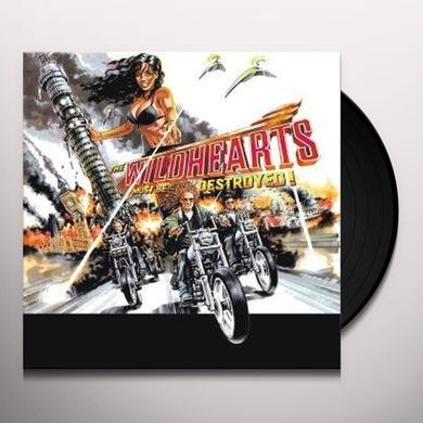 Wildhearts MUST BE DESTROYED Vinyl Record
