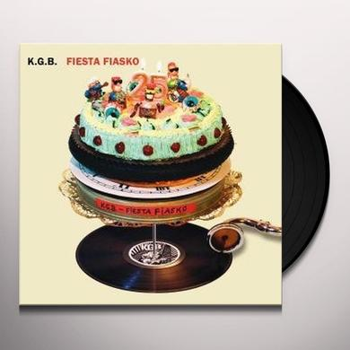 Kgb FIESTA FIASCO Vinyl Record