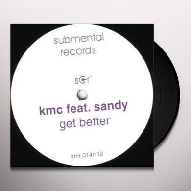 Kmc GET BETTER Vinyl Record