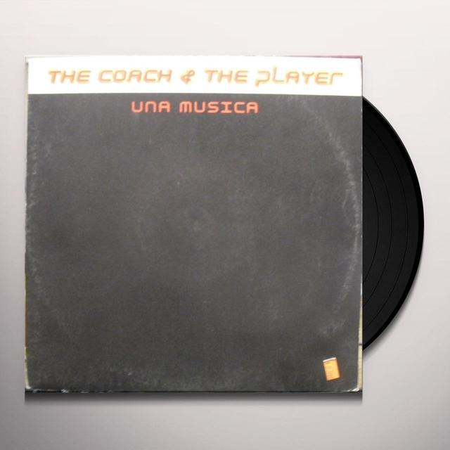 Coach & The Player UNA MUSICA Vinyl Record