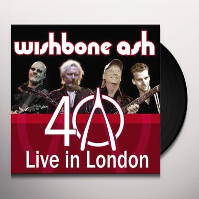 WISHBONE ASH LIVE IN LONDON: 40TH ANNIVERSARY Vinyl Record