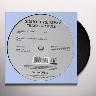 Simioli Vs. Rivaz ELEKTRO PUMP Vinyl Record
