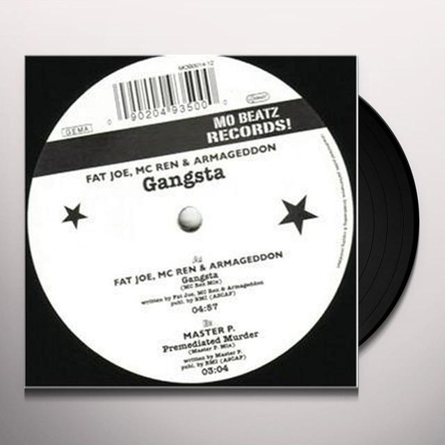 Fat Joe GANGSTA Vinyl Record
