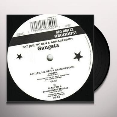 Fat Joe GANGSTA Vinyl Record