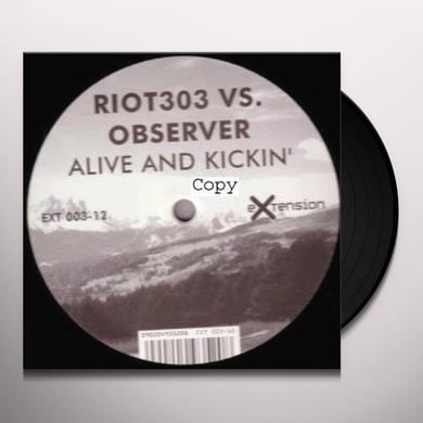 Riot 303 ALIVE & KICKIN Vinyl Record