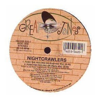 Nightwalkers PUSH THE FEELING ON 200 Vinyl Record