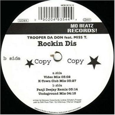 Trooper Da Don F ROCKIN DIS Vinyl Record