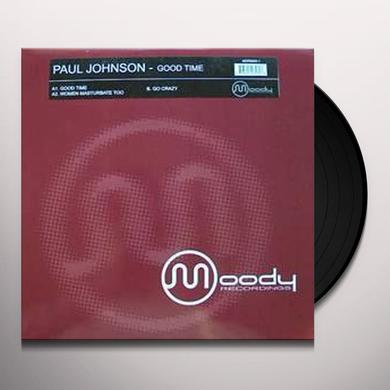Paul Johnson GOOD TIME EP Vinyl Record