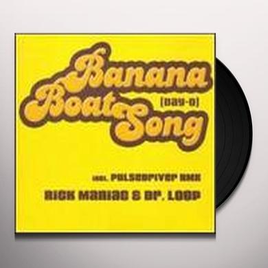 Maniac/Dr. Loop BANANA BOAT SONG DAY-O Vinyl Record