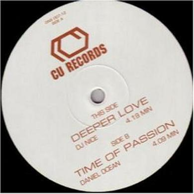 Dj Nice/Ocean DEEPER LOVE/TIME OF PASSION Vinyl Record