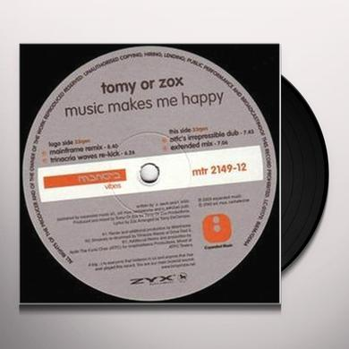 Tomy Or Zox MUSIC MAKES ME HAPPY Vinyl Record