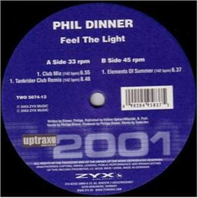 Phil Dinner FEEL THE LIGHT Vinyl Record