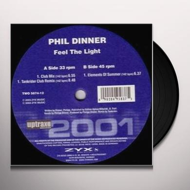 Phil Dinner FEEL THE LIGHT Vinyl Record