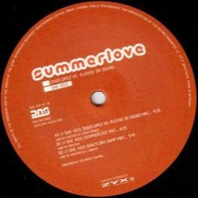 Envelopez/Please Ok Sound ONE KISS Vinyl Record