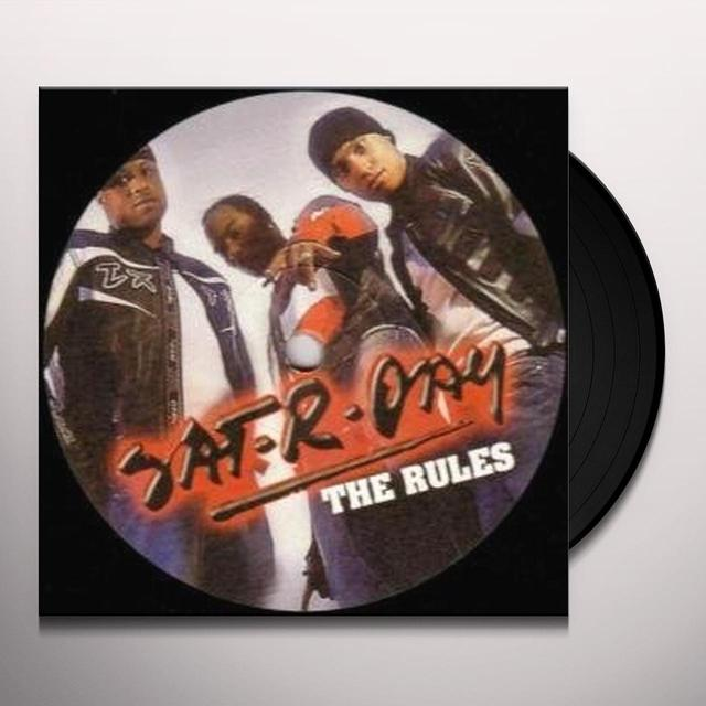 Sat-R-Day RULES Vinyl Record