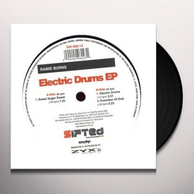 Ramie Burns ELECTRIC DRUMS EP Vinyl Record