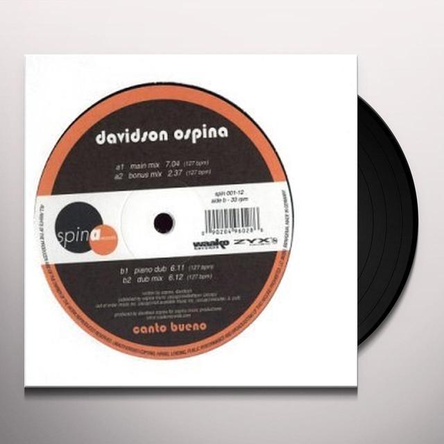 Davidson Ospina CANTO BUENO Vinyl Record