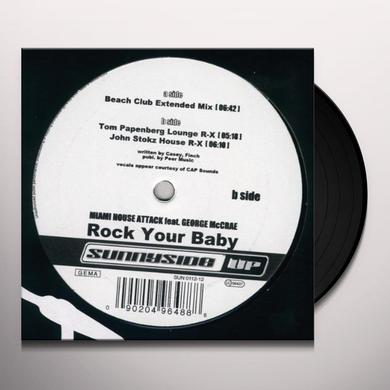 Miami House Attack ROCK YOUR BABY Vinyl Record